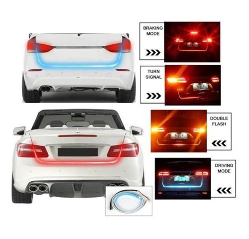 Car Rear Boot Led Daytime Running Light Strip Trunk Light