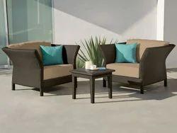 Balcony Terrace Coffee Table & Chair Set