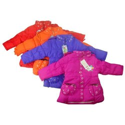Polyester Kids Full Sleeves Jacket, Small, Medium and Large