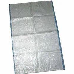 White Plain HDPE Woven Bag, Packaging Type: Bundle