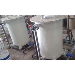 FRP Chemical Dosing Tank
