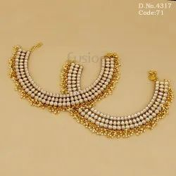 Traditional Wedding Kundan Payal