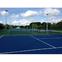 Outdoor Courts Blue Synthetic Surface