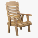 Polished Wood Chair For Home