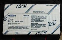 White Scott Kimberly Clark M Fold Tissue Paper, Size: 29.5 Cm
