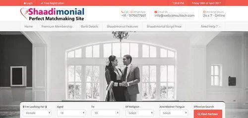 Readymade Matrimonial Website, Matrimonial Script, Matrimony PHP Script