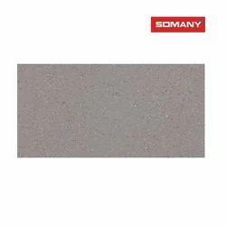 Somany Trento Grey Glossy Floor Tile, Size: 600 x 1200 mm