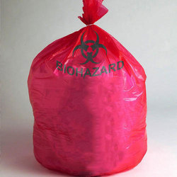Pink Autoclavable Biohazard Bags, Capacity: Upto 5 Kg
