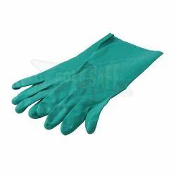 Rubberex Super Nitrile Flocklined Gloves