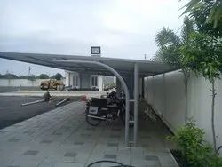 Two Wheeler Industrial Parking Shed