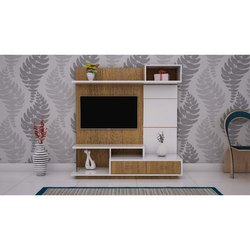 Wooden Free Unit TV Cabinet, For Anywhere, Warranty: 3 Years