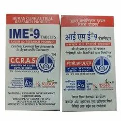 Ime 9 Diabetes Tablet, Packaging Type: Box And Bottle, Packaging Size: 60 Tablets