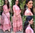 Ladies Pink Designer Kurti