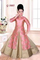 Designer Achkan Style Lehengas For Kids