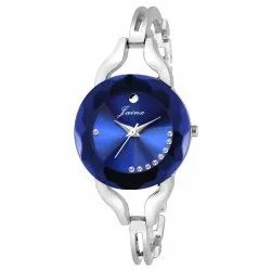 Blue Dial Women Wrist Watch