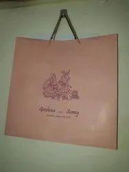 Marriage Invitation Paper Bag