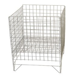 Wire Collapsible Dump Bin