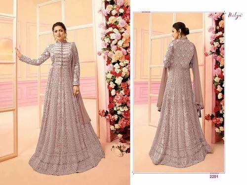 4e68517b45 Heavy Butterfly Net Bridal Anarkali Suits, Rs 1550 /piece | ID ...