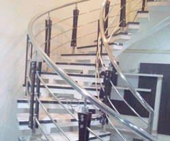 SS Stair Handrails