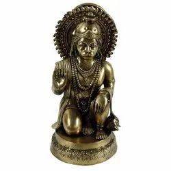 Capstona  Brass Hanuman Idols