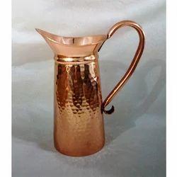 Hammered Copper Mini Jug