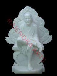 White Marble Sai Baba