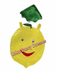 Kids Lemon Cutout Costume