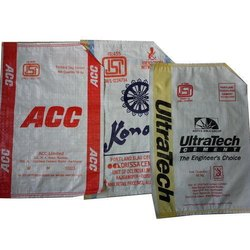 Misprinted Cement Bag