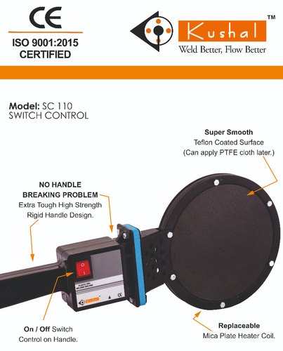 SC 110 Simple HDPE Pipe Welding Mirror Rajasthan