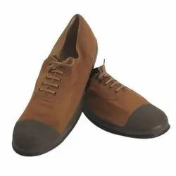 Brown Canvas Tennis Shoes