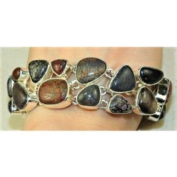Snake Skin Jasper Bracelets Jewelry