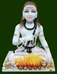 Marble Baba Bankhandi Maharaj Statue