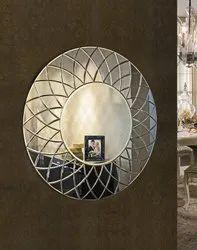 Saint Gobain Designer Mirror, Shape: Rectangular