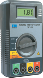 Digital Earth Resistance Tester DET-20