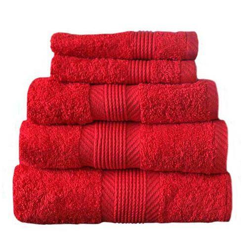 Red Bath Towels