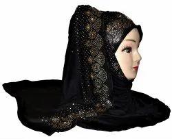 Ladies Black Hijab
