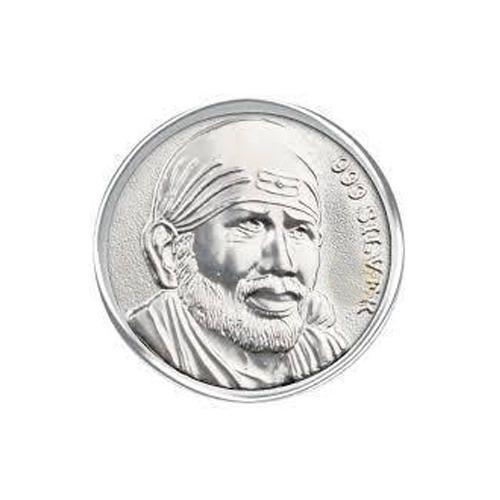 Sai Baba Silver Coin At Rs 450 10 Gram Silver Coins