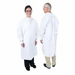 White Surgical Gown