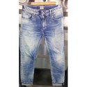 Tapered Fit Straight Denim Jeans, Waist Size: 36