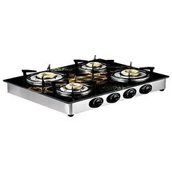 Black&silver Butterfly Gas Stove