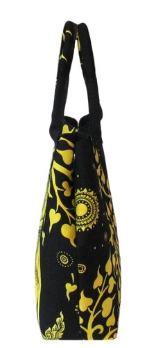 e628cf1c24b7 Elephant   Tree Multi Color Printed Party Wear Carry Hand Bag at Rs ...