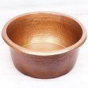 Foot Soak Hammered Copper Pedicure Bowl NJO-7517