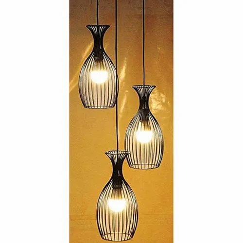 Brightlyts 3 Light Chandelier Black Finish Aluminum Shade Hanging Pendant Ceiling Lamp Hl22 At Rs 799 Piece Decorative Pendant Lamp Ceiling Pendant Lamp Suspended Pendant Lamp À¤ª À¤¡ À¤Ÿ À¤² À¤ª Bright Lite Solutions
