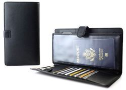 Leather Passport Wallet, Size: 5-7 Inch