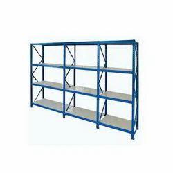 Mild Steel Slotted Angle Storage Rack