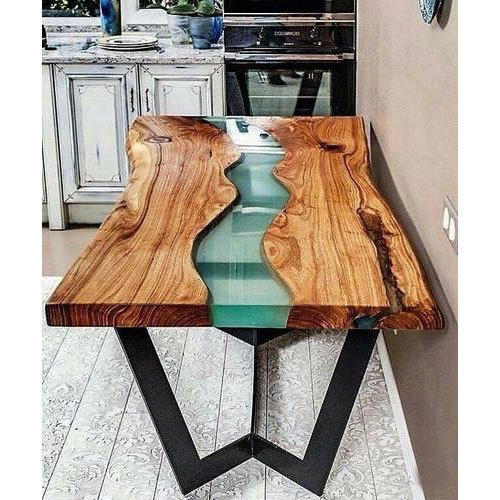 Epoxy Resin Table Wooden Epoxy Resin River Dining Table