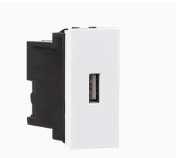 White And Black USB Charger 1.1 A