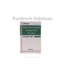Ricovir-EM 200mg/300mg tablets