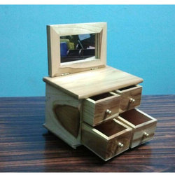 Wooden Drawer Jewelry Box