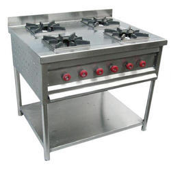Stainless Steel 4 Burner Gas Stoves